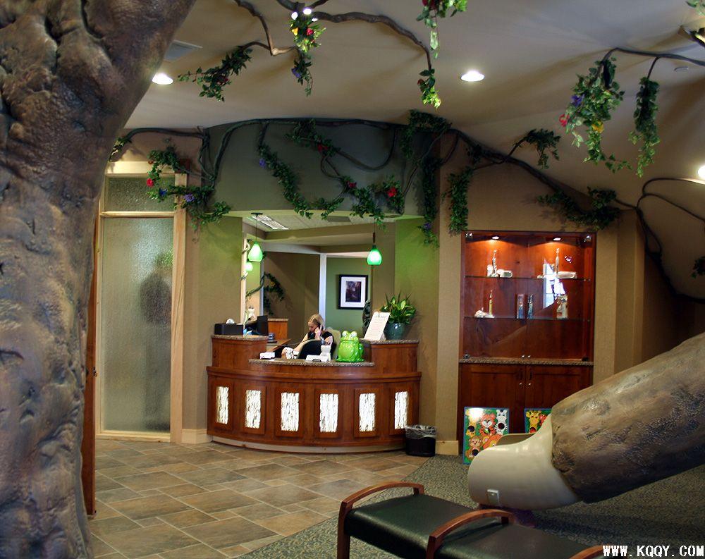 儿童牙科诊所装修——丛林风格