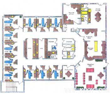 牙科诊所平面设计图