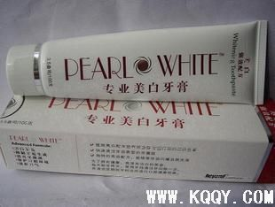 美国普洋专业美白牙膏Pearl White