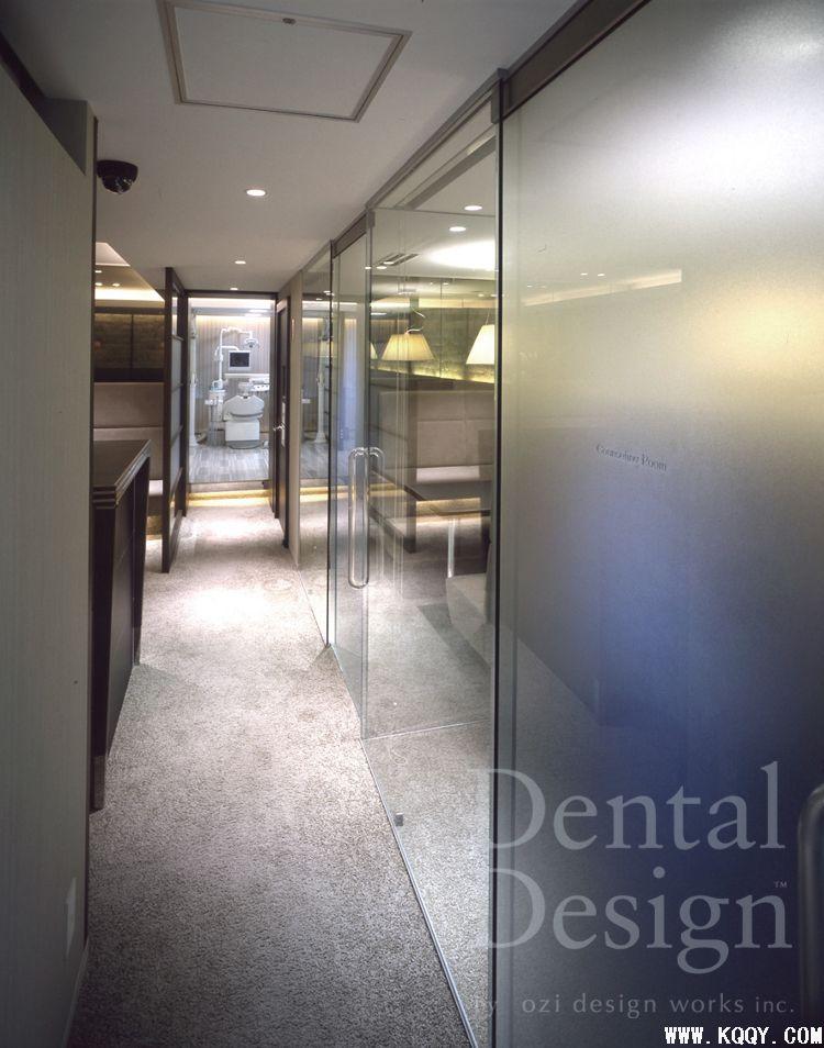 日本牙科诊所装修图片——前台与候诊区(二); 日本室内装修设计图;