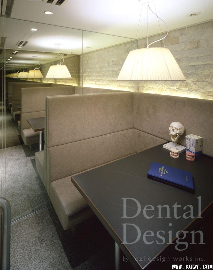 日本牙科诊所装修图片——前台与候诊区(二)