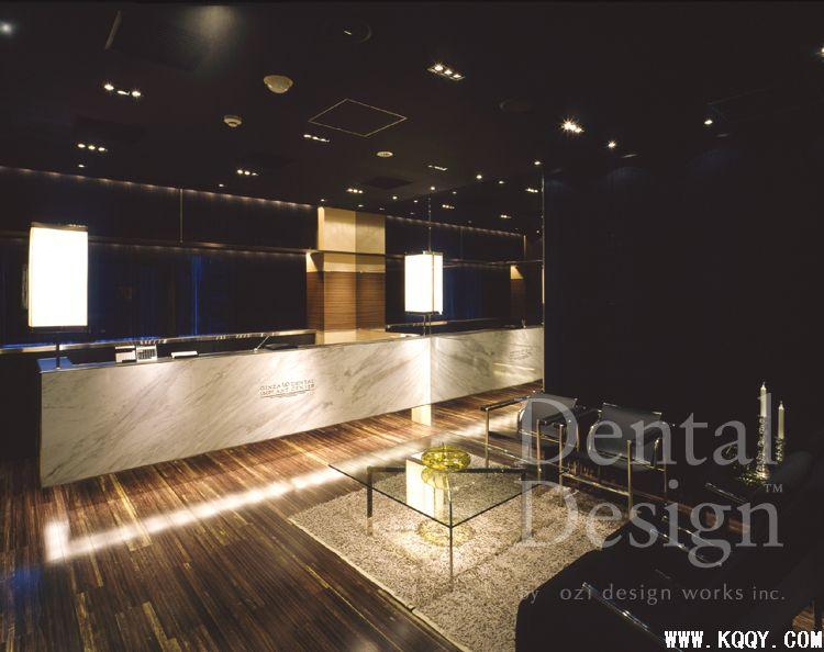 日本东京都中央区银座uc牙科诊所装修图片