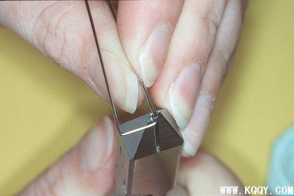 怎样弯制箭头卡环(图解)