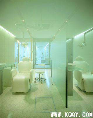 日本kuu牙科诊所装修图片