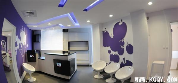 欧美休闲牙科诊所设计