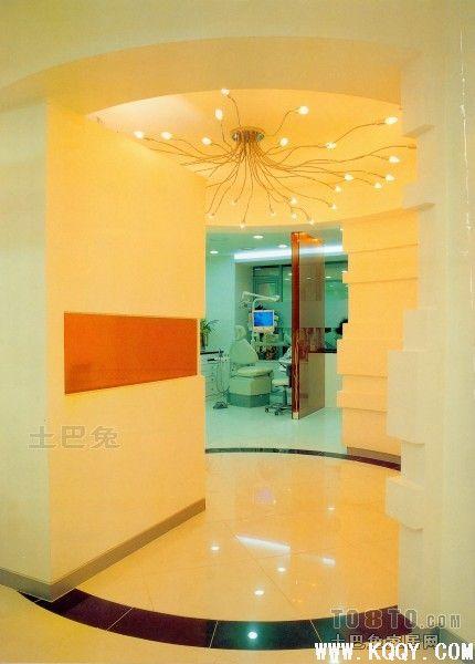 韩国橙色风格牙科诊所装修